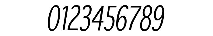 SansibarCX-CondensedOblique Font OTHER CHARS