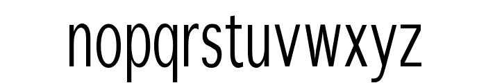 SansibarCX-Condensed Font LOWERCASE