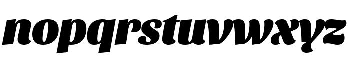 Sansita Black Italic Font LOWERCASE