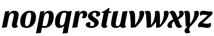 Sansita Bold Italic Font LOWERCASE