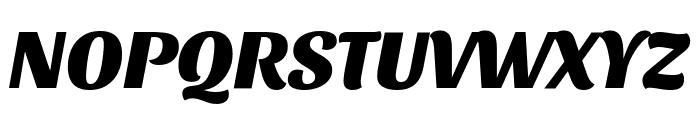Sansita ExtraBold Italic Font UPPERCASE