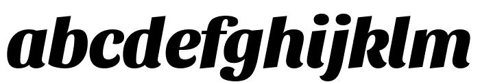 Sansita ExtraBold Italic Font LOWERCASE