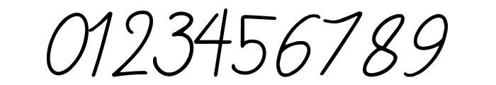 Sansitype Script Font OTHER CHARS