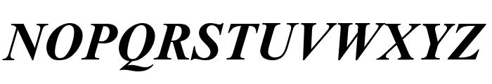 Sanskrit--Roman-Bold-Italic Font UPPERCASE