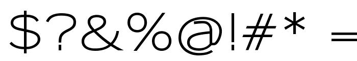 Sansumi-DemiBold Font OTHER CHARS