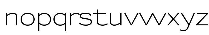 Sansumi-DemiBold Font LOWERCASE