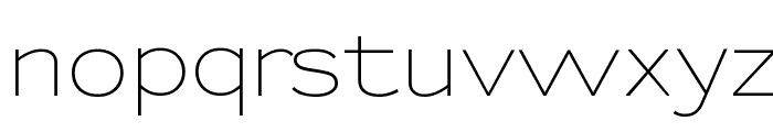 Sansumi-Regular Font LOWERCASE