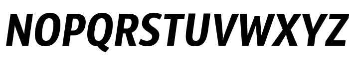 Sansus Webissimo Italic Font UPPERCASE