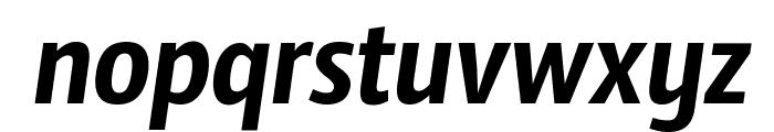 Sansus Webissimo Italic Font LOWERCASE