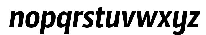 SansusWebissimo-Italic Font LOWERCASE