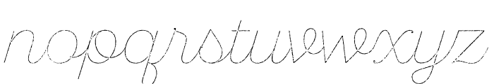 SantEliaRough-LineTwo Font LOWERCASE