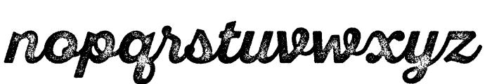 SantEliaRoughAlt-BoldThrDMO Font LOWERCASE