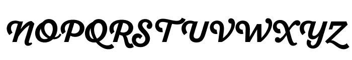SantEliaScript-BoldDMO Font UPPERCASE