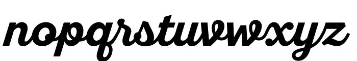 SantEliaScript-BoldDMO Font LOWERCASE