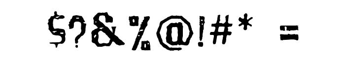Santa Gravita Font OTHER CHARS