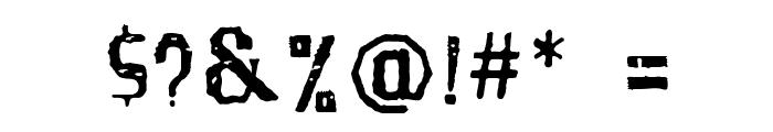 SantaGravita Font OTHER CHARS