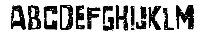 SantaGravita Font LOWERCASE