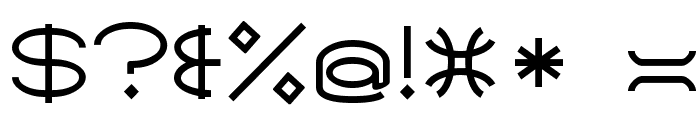 SantaMonicaMF Font OTHER CHARS