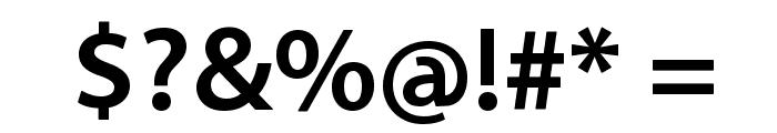 Santana-Bold Font OTHER CHARS