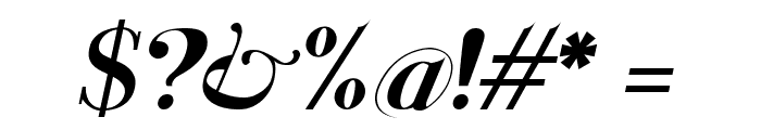 Santander italic Font OTHER CHARS