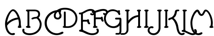 Santa'sSleighFull Bold Font UPPERCASE