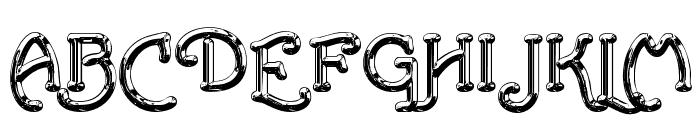 SantasSleighFull Deluxe Font UPPERCASE