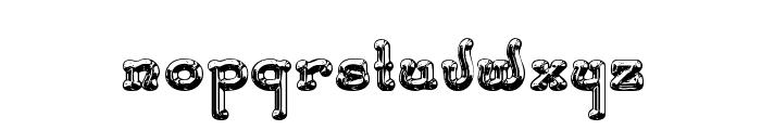 SantasSleighFull Deluxe Font LOWERCASE