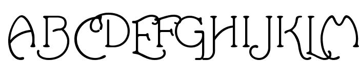 Santa'sSleighFull Font UPPERCASE