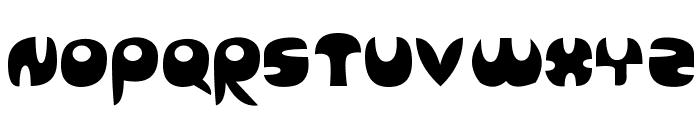 Sanz Query Font UPPERCASE