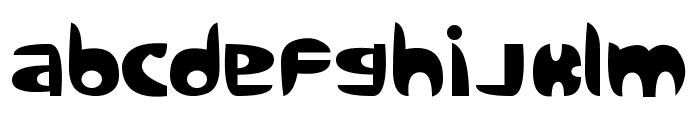 Sanz Query Font LOWERCASE