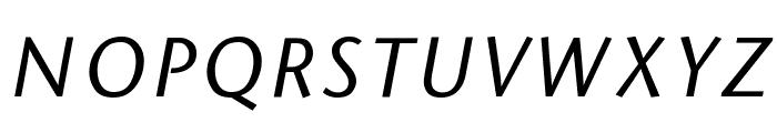 Sapir Italic Font UPPERCASE