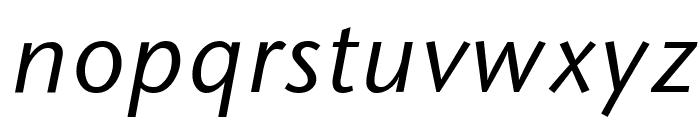 Sapir Italic Font LOWERCASE