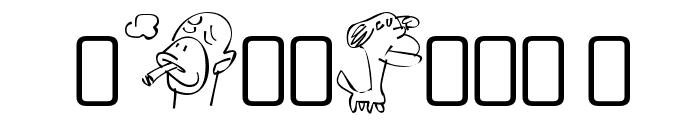 SappyMugs-Regular Font OTHER CHARS