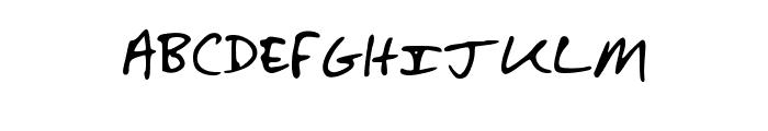 SaraDunn_Hand Font LOWERCASE