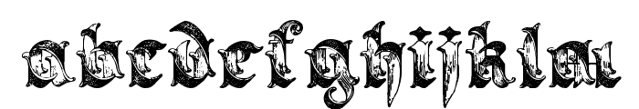 Saraband Lettering Font LOWERCASE