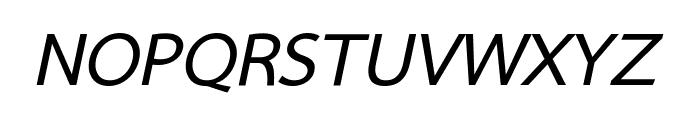 Sarabun Bold Italic Font UPPERCASE