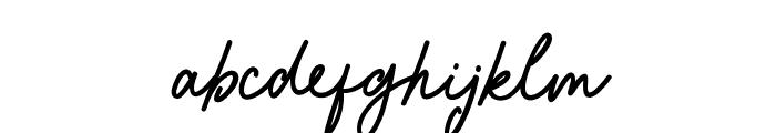 Saraqoo Personal Use Regular Font LOWERCASE