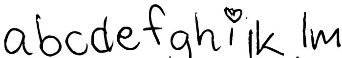 Saras Font 1 Font LOWERCASE
