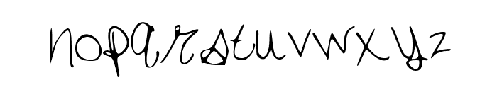 SarasType Font LOWERCASE