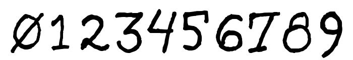 SarcasticRobot Font OTHER CHARS