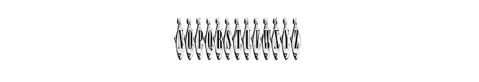 Sardines Font UPPERCASE