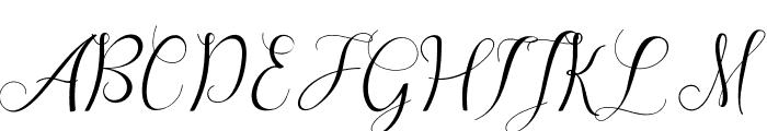 Sareeka Free Font UPPERCASE