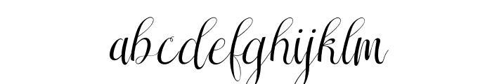 Sareeka Free Font LOWERCASE