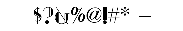 Sarsaparilla NF Font OTHER CHARS