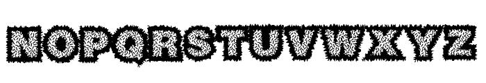 Sasquatch Font LOWERCASE
