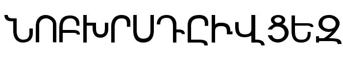 Sassoun Font UPPERCASE