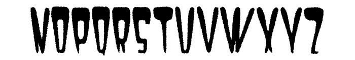 Satan 1981 Regular Font UPPERCASE