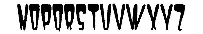 Satan 1981 Regular Font LOWERCASE
