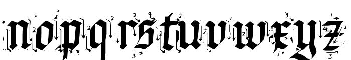 Satanas Humanum Salvator Font LOWERCASE