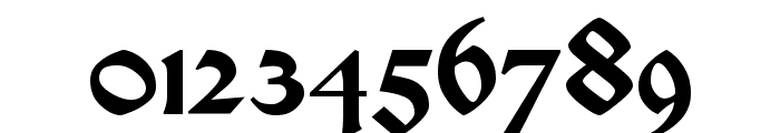 Satanick Regular Font OTHER CHARS